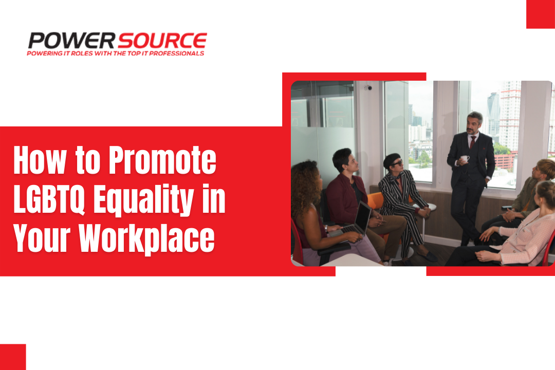 How to Promote LGBTQ Equality in Your Workplace