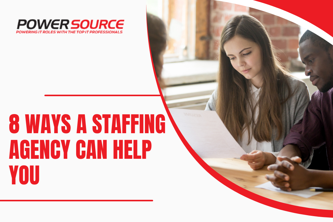 8 Ways a Staffing Agency Can Help You